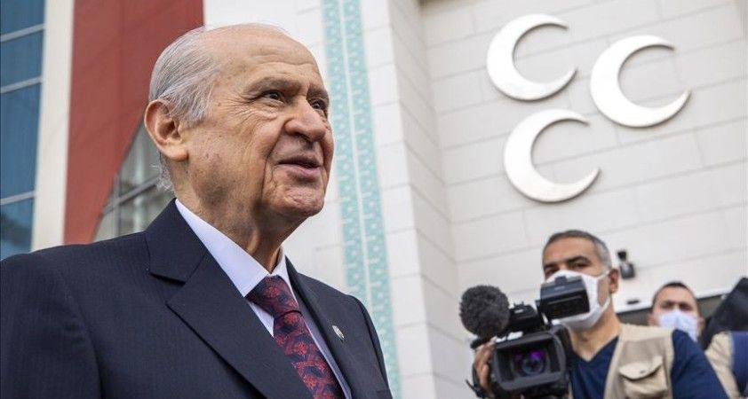 MHP Genel Başkanı Bahçeli sosyal medya suskunluğunu bozdu