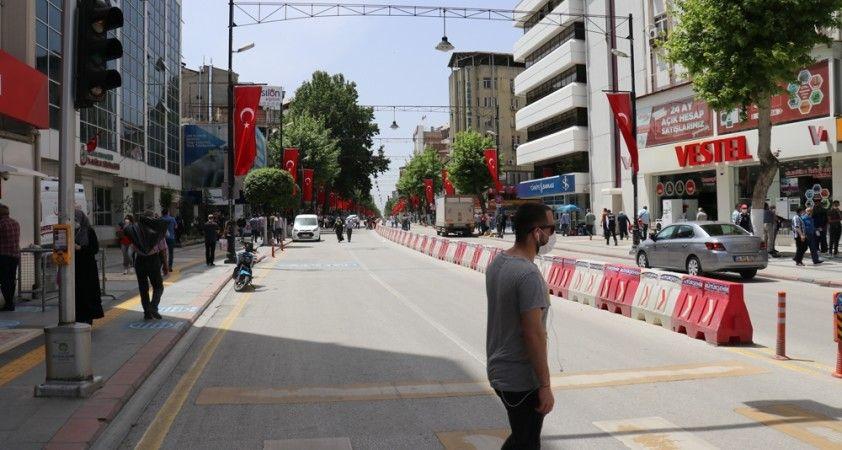 Malatya'da kapalı caddeler 21 Mayıs'ta açılıyor