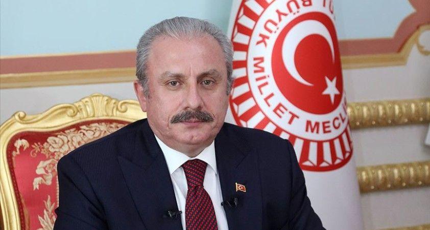 TBMM Başkanı Mustafa Şentop, Ermenistan'ın sivillere yönelik saldırısını kınadı