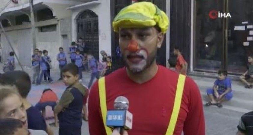 Gazze'de çocuklar için sirk okulu kuruldu