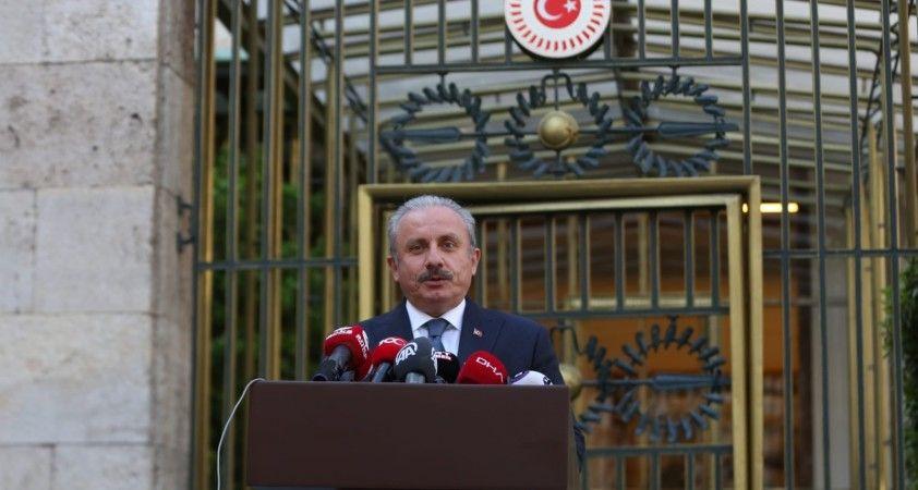 """TBMM Başkanı Şentop: """"Mısır ve Libya ile Dostluk Grubu kurulması önemli"""