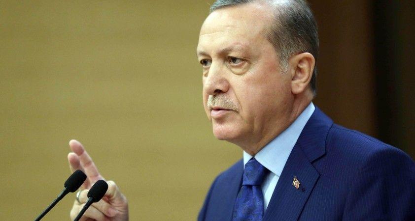 Cumhurbaşkanı Erdoğan, Meclis Başkanını kabul etti