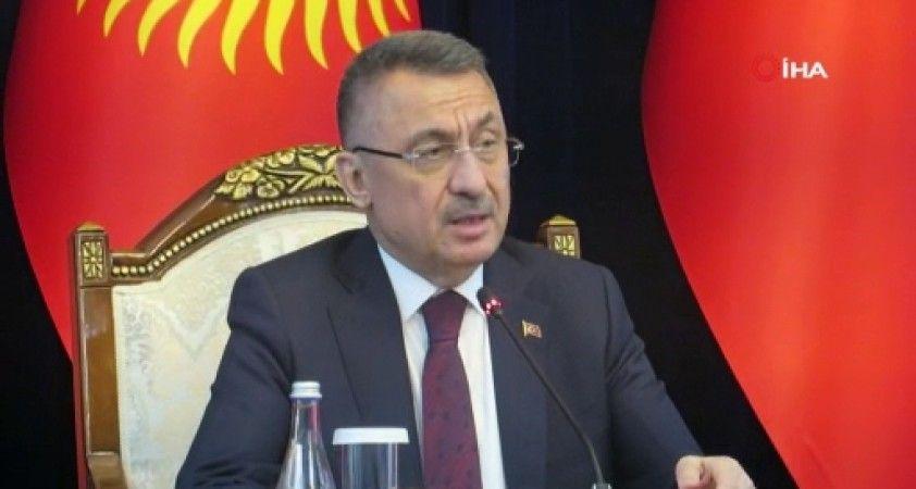 """Cumhurbaşkanı Yardımcısı Oktay: """"FETÖ'nün kardeşlik ilişkilerini zehirlemesine fırsat vermemeliyiz"""""""