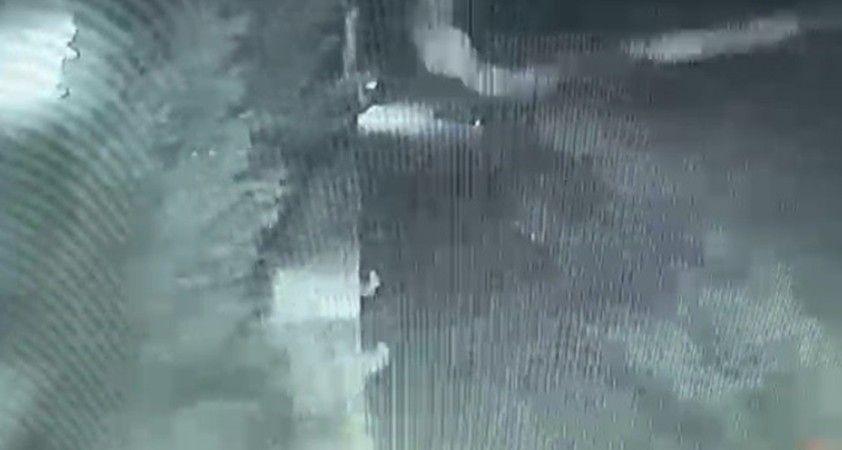 İzmir'de yaşanan felaket kamerada