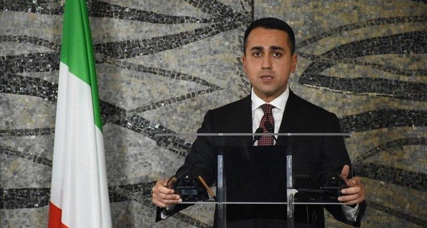 İtalya Dışişleri Bakanı Di Maio, Libya'nın İtalya için yüksek öncelikli olduğunu belirtti