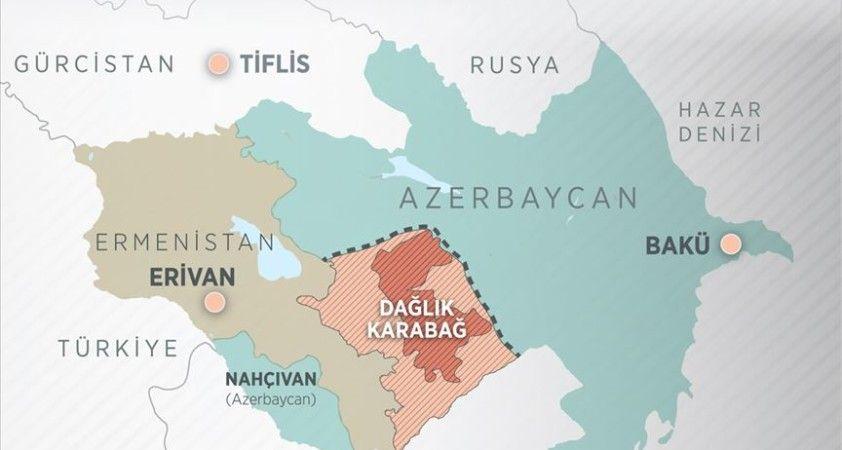 Azerbaycan ve Ermenistan dışişleri bakanları, 'Dağlık Karabağ' sorununu görüştü