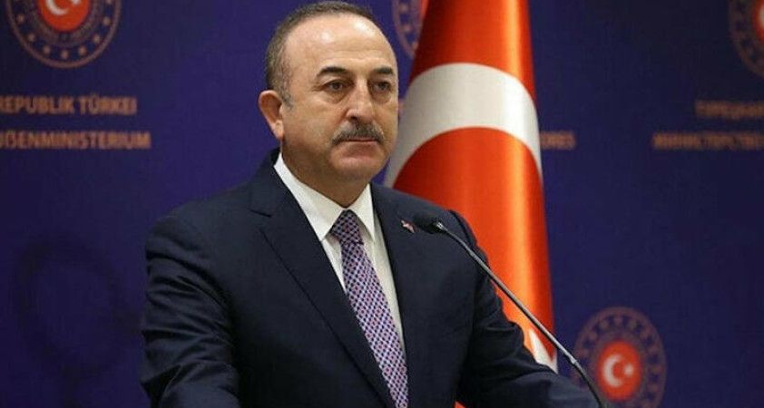 Bakan Çavuşoğlu, KKTC Cumhurbaşkanı Tatar ile görüştü