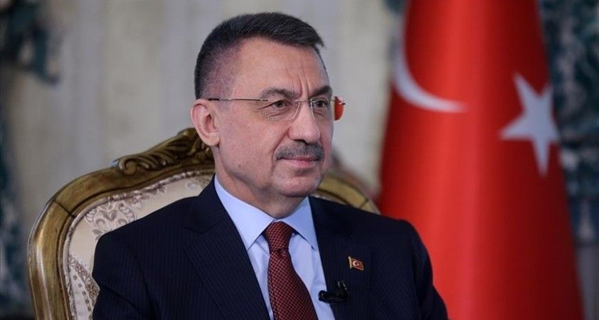 Cumhurbaşkanı Yardımcısı Oktay, Azerbaycan Cumhuriyeti'nin kuruluşunun 103'üncü yılını kutladı