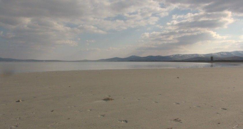 Seyfe Gölüne son yağışlar can suyu oldu, gölde su seviyesi arttı
