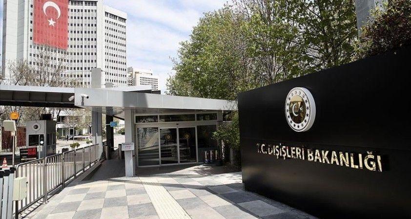 Dışişleri Bakanlığı: 'Kırım'daki gelişmeleri endişeyle takip ediyoruz'