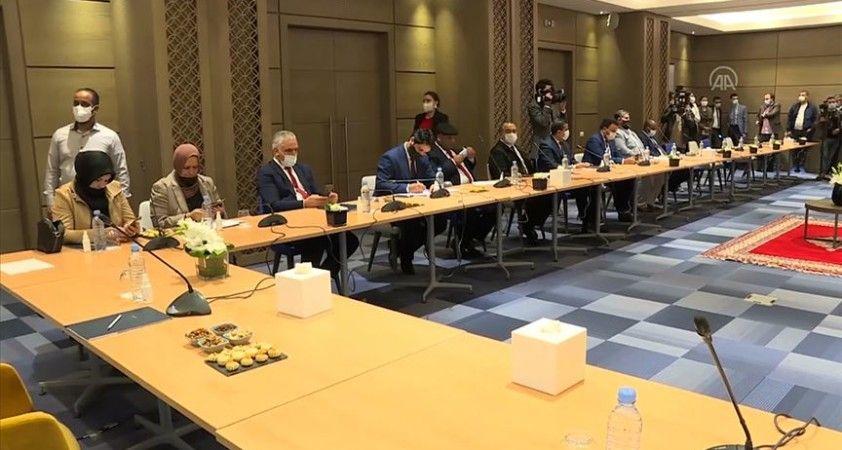 Libyalı taraflar, Tunus'taki diyalog görüşmeleriyle ilgili karar mekanizmasında anlaştı
