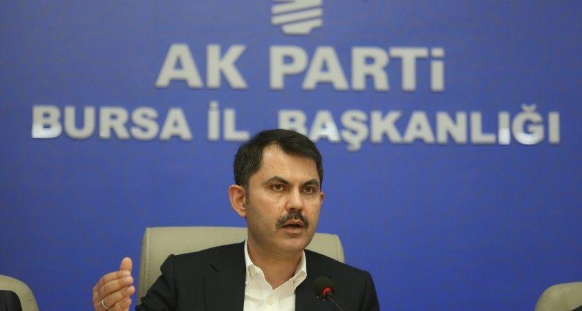 """Bakan Kurum: """"Türkiye 84 milyon vatandaşı ile İsrail'in karşısında durmuştur"""