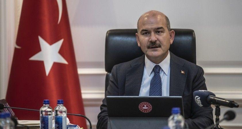 İçişleri Bakanı Soylu: Devletimize karşı bir başka tezgahla karşı karşıyayız