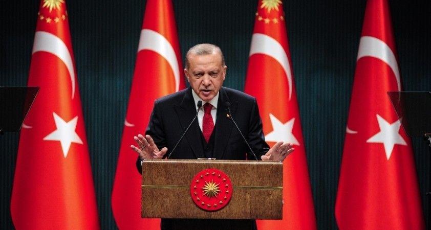 Cumhurbaşkanı Erdoğan, AB Komisyon Başkanı Leyen ile görüştü