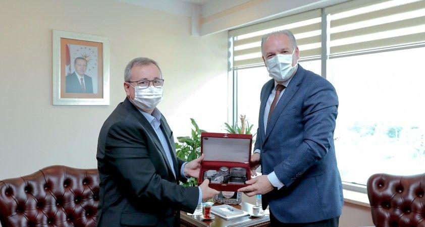 Kosova Cumhuriyeti Bölgesel Kalkınma Bakanı Fikrim Damka Edirne'de