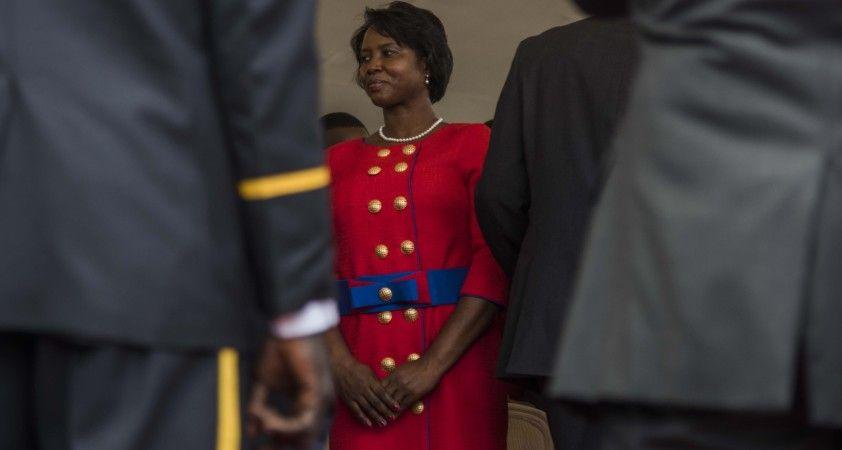 """Haiti First Lady'si Moise'tan suikast açıklaması: """"Bu cinayetin cezasız kalmasına izin veremezsiniz"""