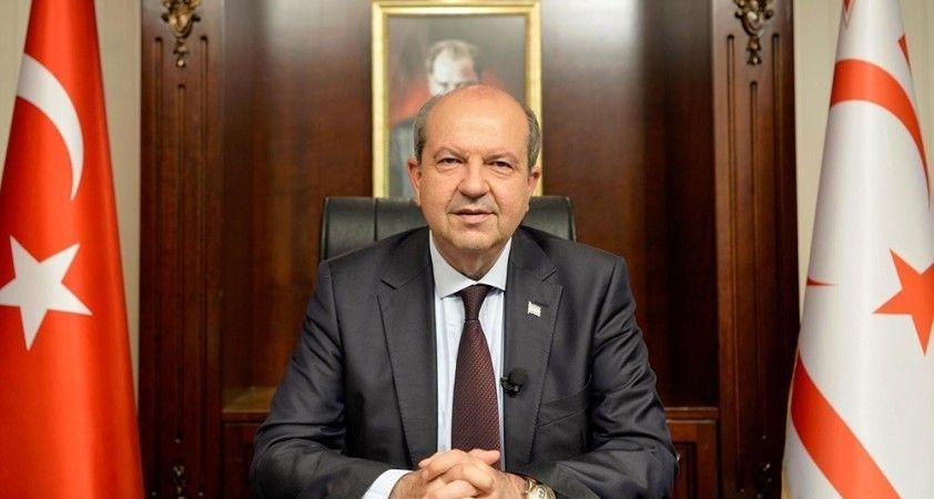 """KKTC Cumhurbaşkanı Tatar: """"Türkiye Cumhuriyeti'ne teşekkür ediyorum"""""""