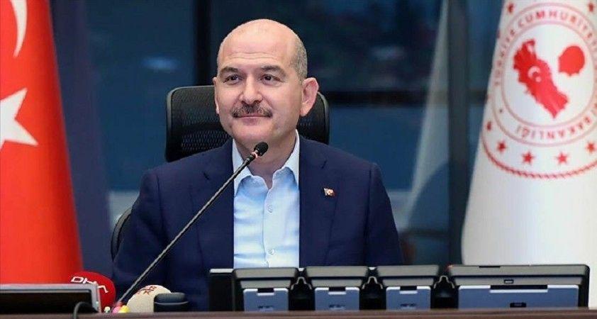 Soylu'dan Bahçeli'ye: Türkiye'ye operasyon çekmek isteyenlere karşı bugünkü tarihi hatırlatması için müteşekkiriz