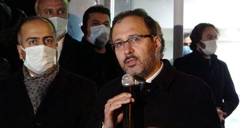 Bakan Kasapoğlu'ndan 'Genç Ofis' açılışı