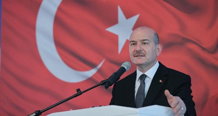 İçişleri Bakanı Soylu'dan Kobani olayları paylaşımı