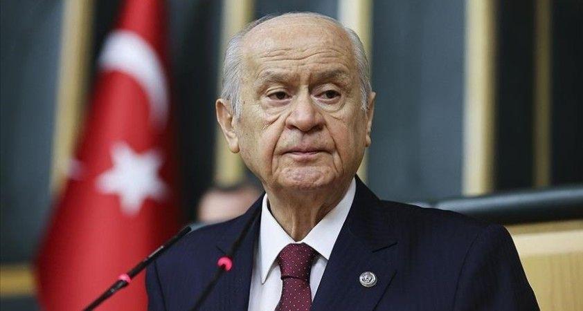 Bahçeli: MHP Cumhur İttifakı'yla birlikte Türkiye'nin akıl ve gönül enerjisidir