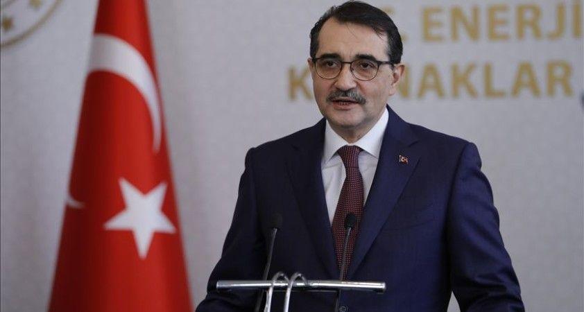 Bakan Dönmez: Fatih'in keşfettiği doğal gaz rezervimiz Filyos'ta karaya çıkacak