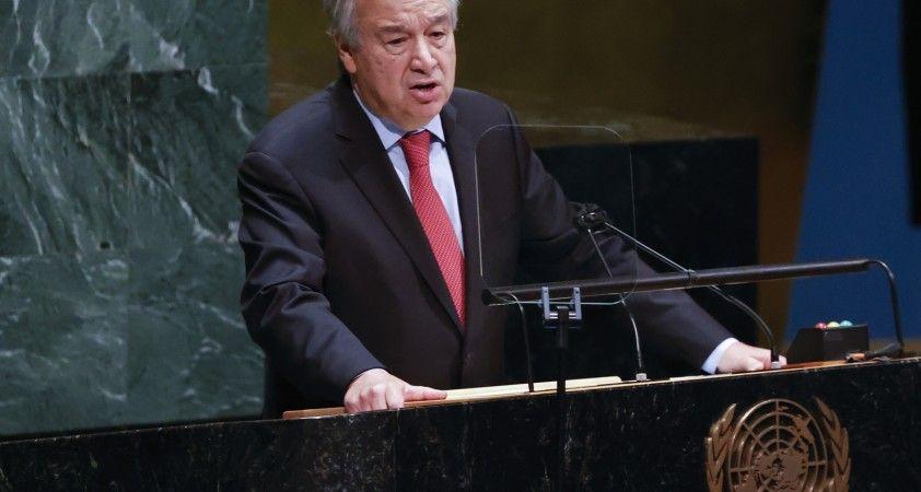 BM Genel Sekreteri Guterres'ten Gine Cumhurbaşkanı Conde'nin serbest bırakılması çağrısı