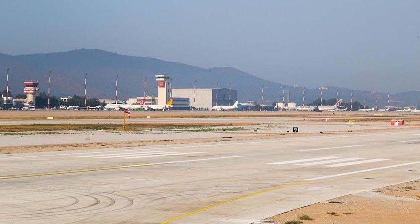Milas-Bodrum Havalimanı'nın yenilenen pisti hizmete alındı
