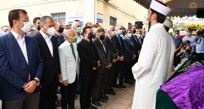 Tuzla Belediye Başkanı Yazıcı'nın annesi son yolculuğuna uğurlandı