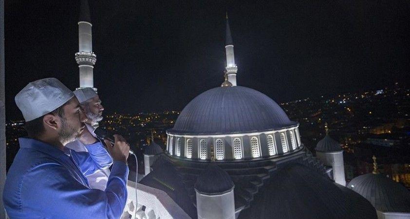 15 Temmuz'un 5. yıl dönümünde saat 00:13'te tüm camilerden sela okundu
