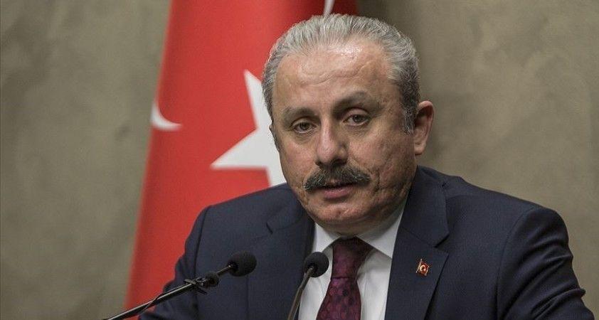TBMM Başkanı Şentop, El Bab'da şehit düşen Demirel için başsağlığı diledi
