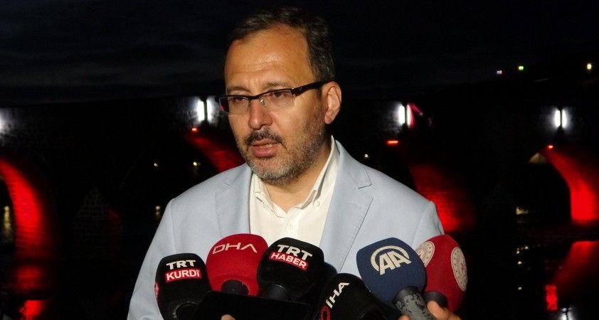 Gençlik ve Spor Bakanı Kasapoğlu'ndan Muş'a yatırım müjdesi