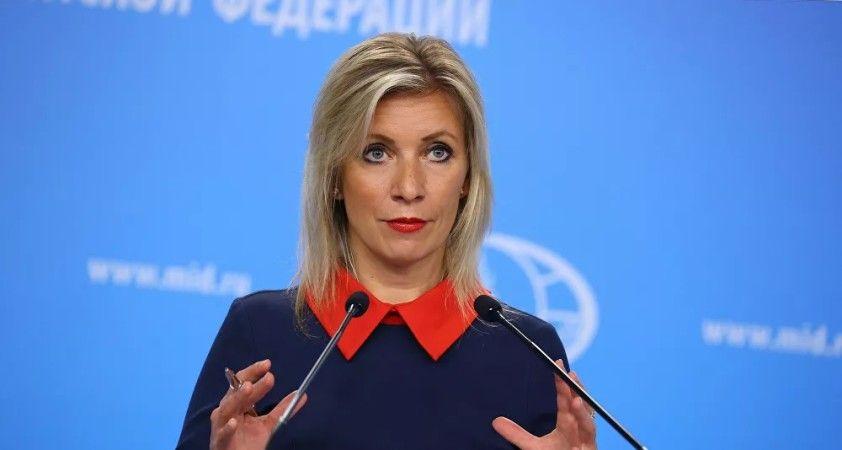 Zaharova, Alman yetkililerde 'hafif kişilik bölünmesi belirtilerinin' görüldüğünü söyledi