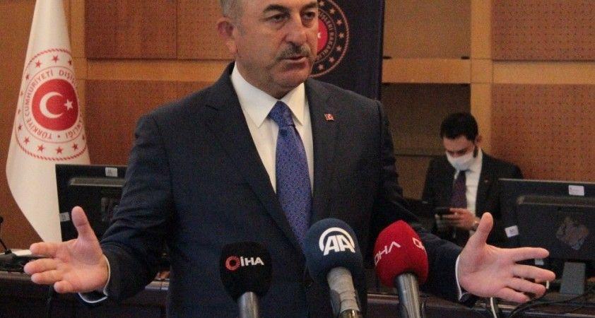 Bakan Çavuşoğlu'ndan Avusturya Başbakanı Kurz'a sert tepki