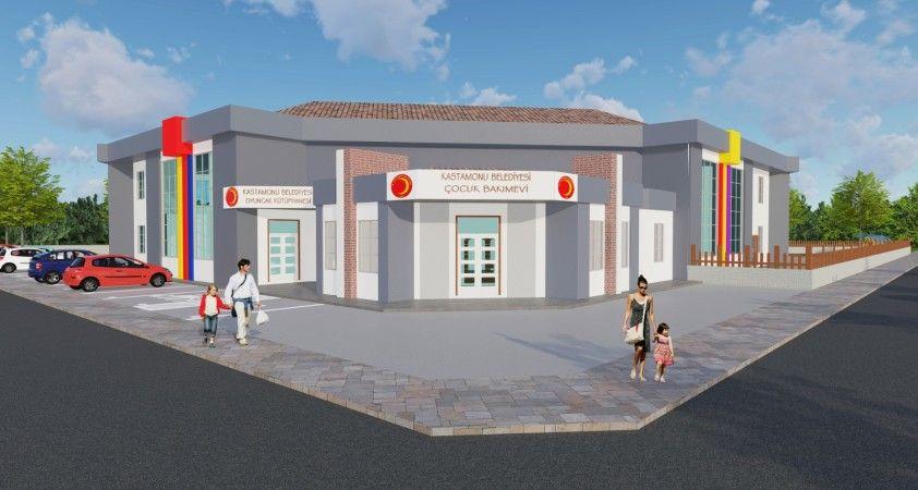 Kastamonu Belediyesi Çocuk Bakımevi ve Oyuncak Kütüphanesi Projesinde çalışmalar başladı