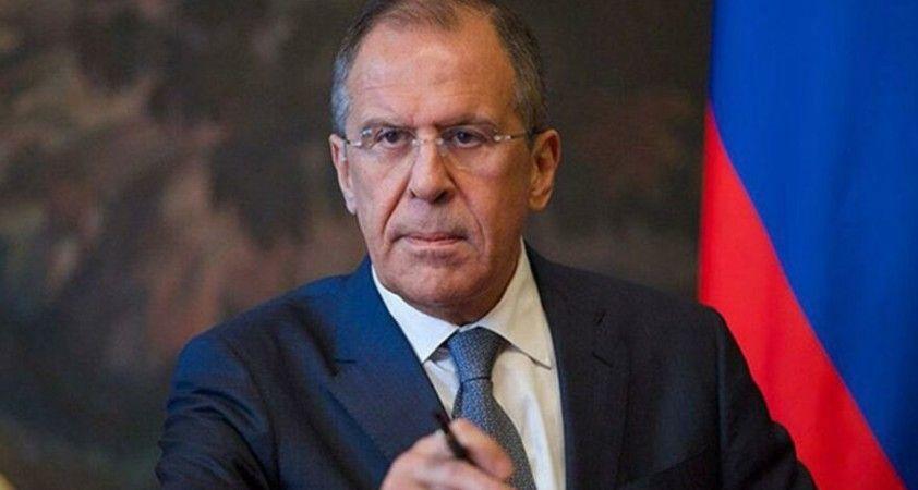 Lavrov: Kiev'i Kırım konusunda cesaretlendirmenin Rusya'nın bütünlüğüne kastetmek olduğunu Türkiye'ye açıkça söylüyoruz