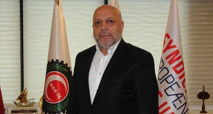 Hak-İş Başkanı Arslan: Asgari ücretteki artış önemli olmakla birlikte beklentileri karşılamadı