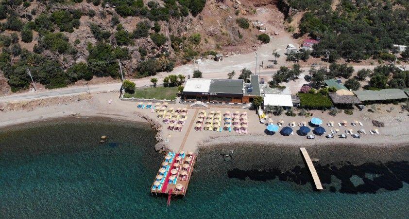 Assos'taki kaçak yapının 'Yapı Kayıt Belgesi' iptal edildi