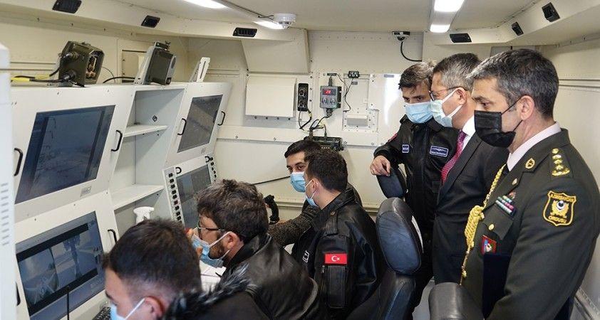 Azerbaycanlı askerler Bayraktar TB2 SİHA Operatörlüğü eğitimini tamamladı