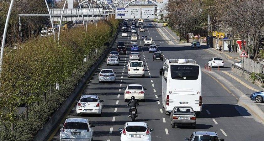 Trafiğe 7 ayda 724 bin 277 aracın kaydı yapıldı