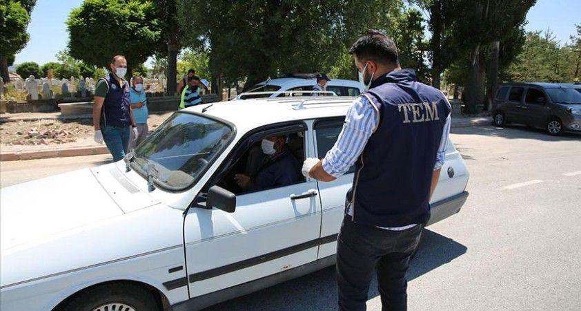 Ülke genelinde eş zamanlı 'Türkiye Güven Huzur' uygulamasında 1138 zanlı yakalandı