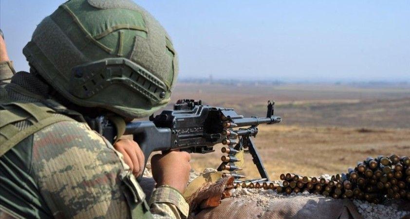 Barış Pınarı bölgesinde 2, Fırat Kalkanı bölgesinde 1 terörist etkisiz hale getirildi