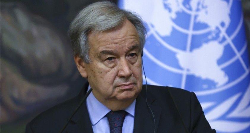 BM Genel Sekreteri Guterres: Gazze'de 'çocukların hayatını cehenneme çeviren' çatışmalara derhal son verilmeli
