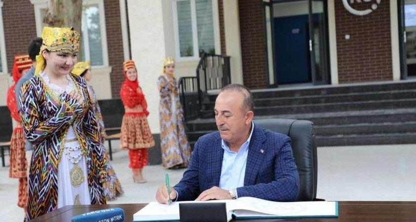 Çavuşoğlu, Türk Dünyası turizm başkenti Kokand'ı ziyaret etti