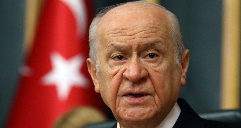 """Bahçeli: """"Dolandırıcı tosuncuk nasıl bedel ödeyecekse Kılıçdaroğlu da ödesin"""""""
