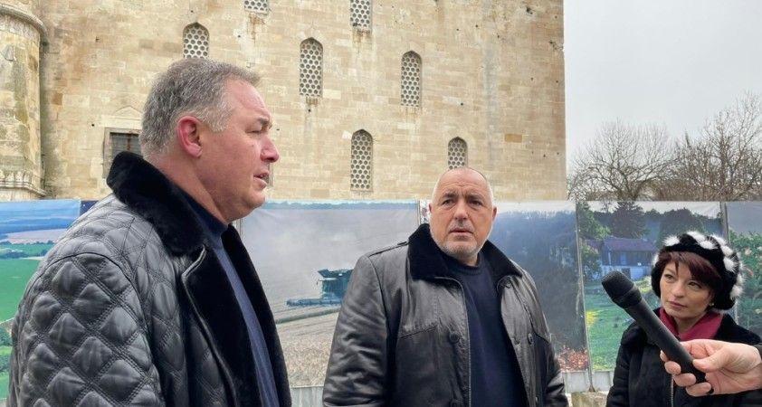 Bulgaristan Başbakanı Borisov'dan restore edilen camiye ziyaret