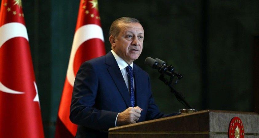 Cumhurbaşkanı Erdoğan, işçilerle birlikte iftar yaptı