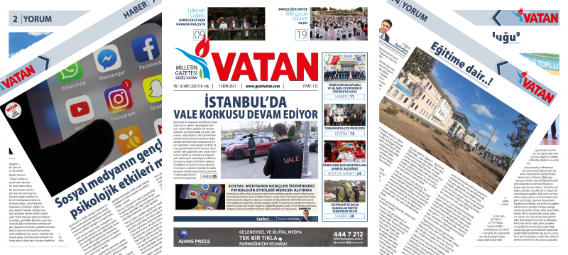 Güzel Vatan E-Gazete - Ekim 2021