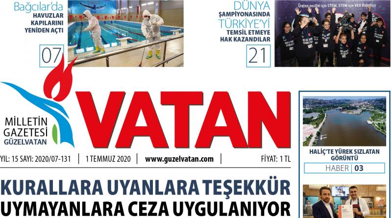GüzelVatan E-Gazete - Temmuz 2020