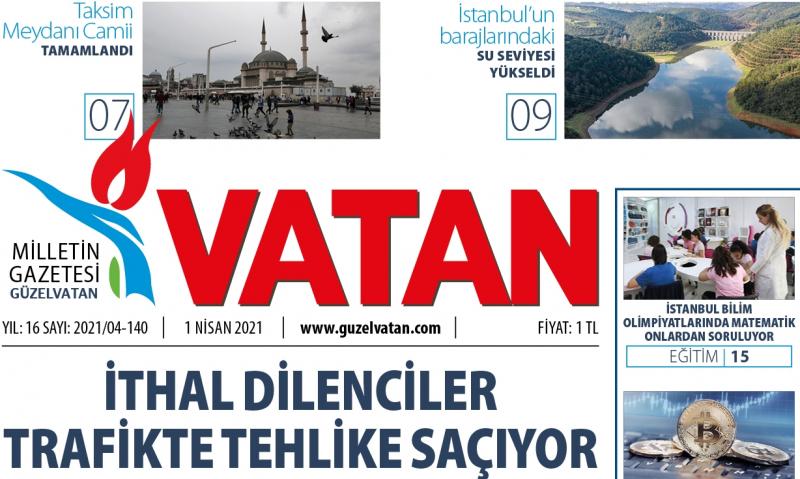 GüzelVatan E-Gazete - Nisan 2021